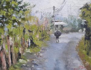 rain  Mina Ghavidel