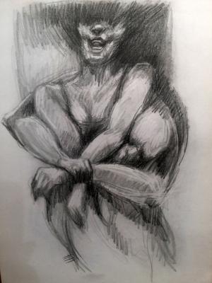 sketch number 20  mehdi khajooei
