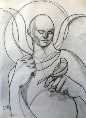 sketch number 1  mehdi khajooei
