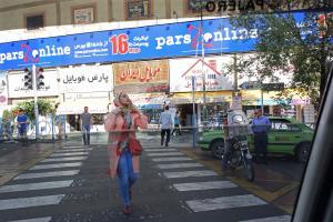 Tehran, Vali-Asr Square   jasem ghazbanpour