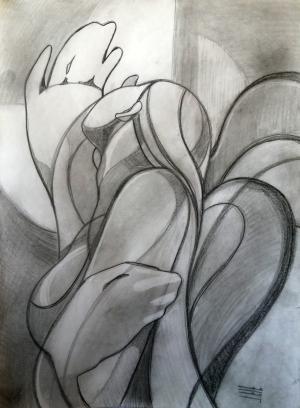 sketch number 8  mehdi khajooei