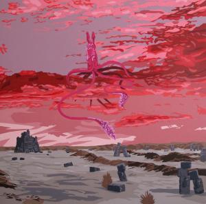 pink sunset  katayoun tehrani