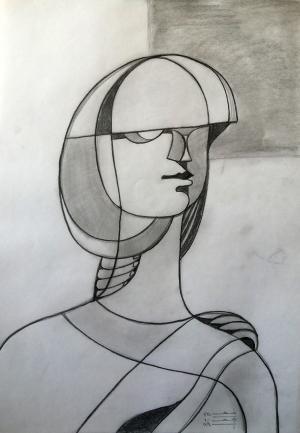 sketch number 13  mehdi khajooei