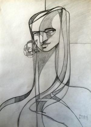 sketch number 15  mehdi khajooei