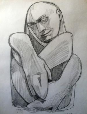 sketch number 17  mehdi khajooei