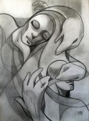 sketch number 10  mehdi khajooei