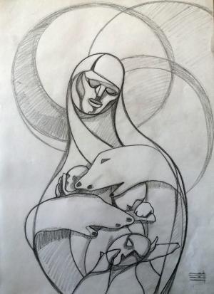 sketch number 4  mehdi khajooei