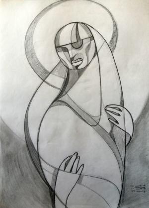 sketch number 12  mehdi khajooei