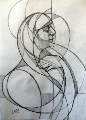 sketch number 3  mehdi khajooei