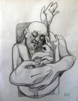 sketch number 16  mehdi khajooei