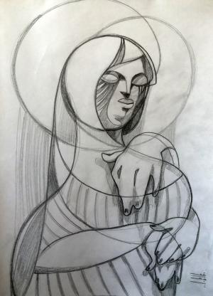 sketch number 5  mehdi khajooei