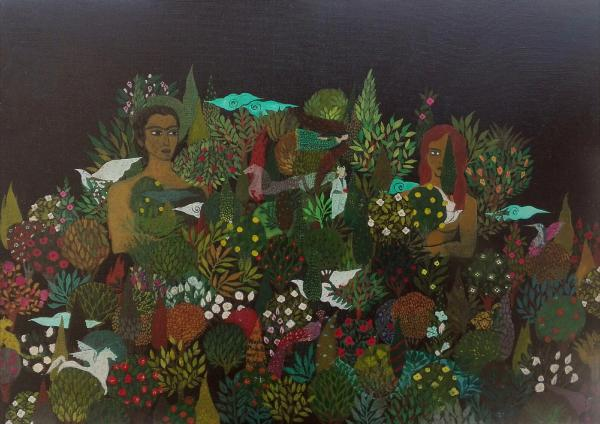 Works Of Art najla mahdavi ashraf