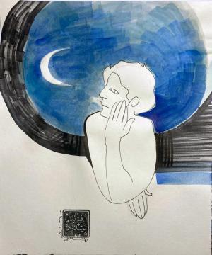 moon watch  Farbod Morshedzadeh
