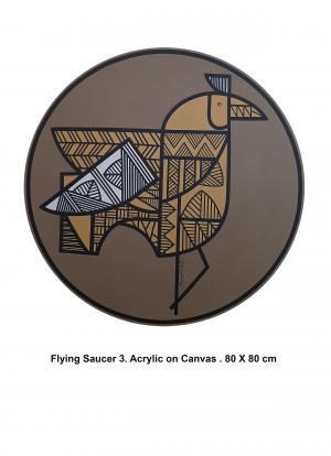 Flying Saucer 3  Mahdie Doostvandi