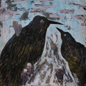 پرندگان کوهستان از مهسا  کریمی
