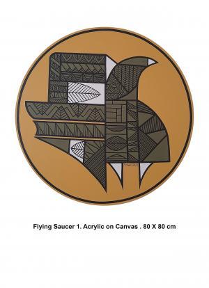 Flying Saucer 1  Mahdie Doostvandi