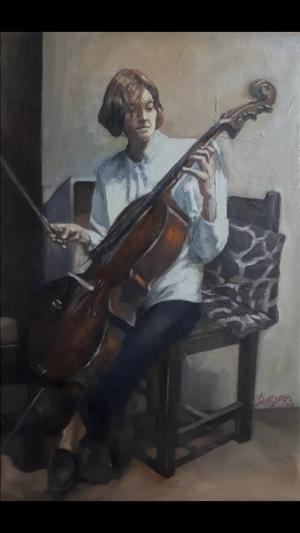Cello player  Shayan  Ostovar