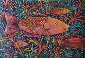 fishes  Kamal Tabatabaie