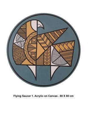 Flying Saucer 2  Mahdie Doostvandi