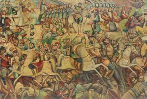 The events of the Karbala desert  Abbas boloukifar