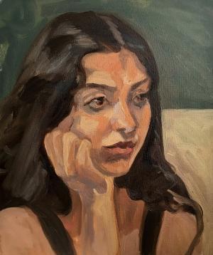 A portrait  Shaghayegh Torabi