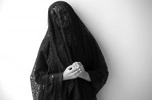 sad widow  Marjaneh Pourhosein