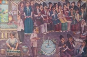 coffee house  Jaafar Lashgari