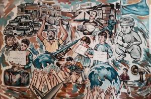 Children of war  Shima Motallebi
