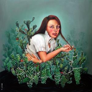 Woven in a cactus  Farzaneh Khoshkhoo
