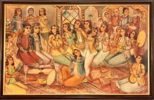 the wedding ceremony   Jaafar Lashgari